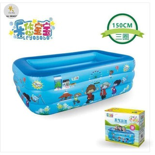 [SALE SIÊU HOT] Bể bơi 3 tầng kt:130x90x55cm