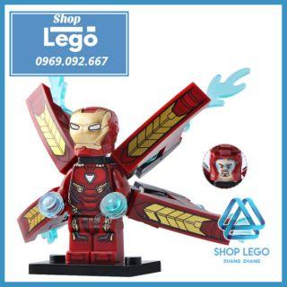 Xếp hình Iron Man MK50 - The Avengers Lego Minifigures Xinh Xh823 X0187 thumbnail