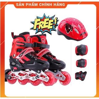 [COMBO] Giày trượt patin thể thao cao cấp + Bộ bảo hộ (chân,tay,mũ)