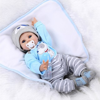 55Cm Birthday Gifts Vivid Fashion Handmade Lifelike Newborn Craftwork Soft Baby Doll