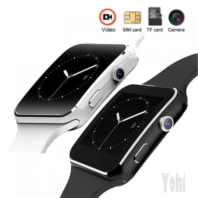 Đồng hồ thông minh yohi X6 Bluetooth chống nước cho iOS Android - 15448785 , 2187856837 , 322_2187856837 , 224000 , Dong-ho-thong-minh-yohi-X6-Bluetooth-chong-nuoc-cho-iOS-Android-322_2187856837 , shopee.vn , Đồng hồ thông minh yohi X6 Bluetooth chống nước cho iOS Android