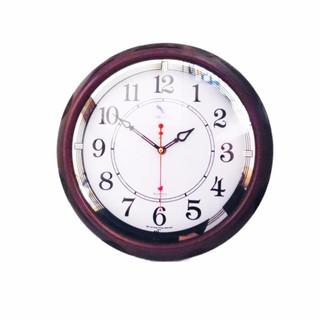 Đồng hồ treo tường tròn MITACO (M35) nâu 36cm