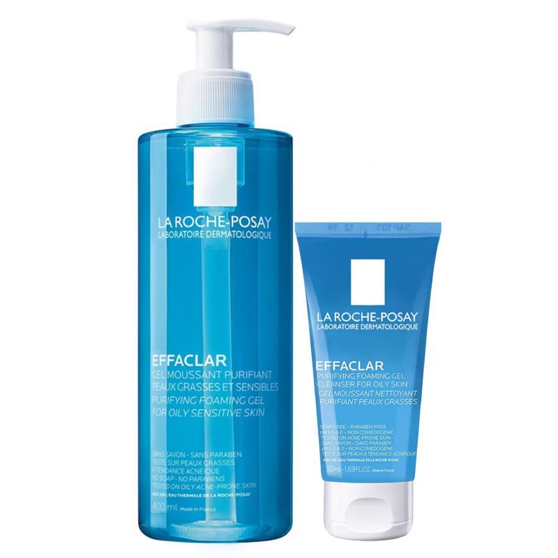 Sữa Rửa Mặt La Roche-Posay Effaclar Purifying Foaming Gel 400Ml|400Ml nhập khẩu