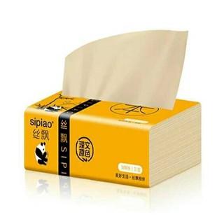 Gói giấy ăn gấu trúc sipiao siêu dai, giấy ăn than tre - hàng chuẩn - hình 1