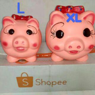 ỐNG HEO ĐẤT TÀI LỘC 3D size L,XL