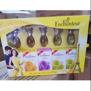 Combo 5 chai nước hoa Enchanteur 15ml thumbnail