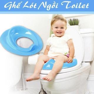 Bệ vệ sinh cho bé - Bồn cầu thu nhỏ cho bé tập đi vệ sinh an toàn thumbnail