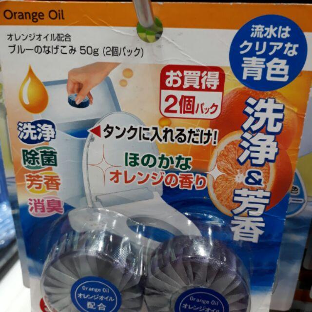 Viên tẩy bồn cầu nhật bản vỉ 2 viên hương cam. Mỗi viên 50g giúp khử mùi hôi bồn cầu nhà bạn sạch sẽ - 2724170 , 487378040 , 322_487378040 , 55000 , Vien-tay-bon-cau-nhat-ban-vi-2-vien-huong-cam.-Moi-vien-50g-giup-khu-mui-hoi-bon-cau-nha-ban-sach-se-322_487378040 , shopee.vn , Viên tẩy bồn cầu nhật bản vỉ 2 viên hương cam. Mỗi viên 50g giúp khử mùi hô