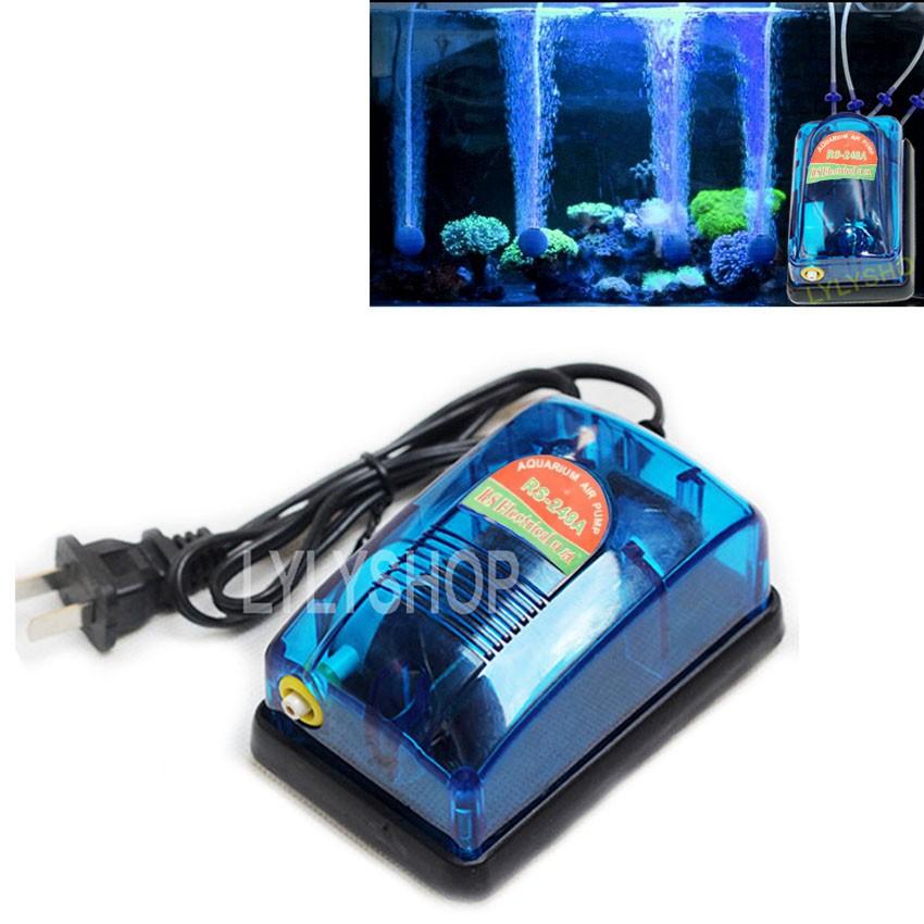 Máy sục khí mini Rs electrical RS-248A ( 3W - 2.5L/PHÚT) cung cấp oxy cho hồ thúy sinh. BH bởi Fish Mart
