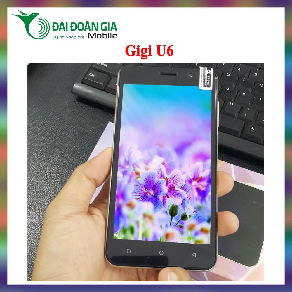 Điện thoại thông minh Gigi U6 - Hàng chính hãng - Tặng kèm ốp lưng - 3515249 , 1240253663 , 322_1240253663 , 1466670 , Dien-thoai-thong-minh-Gigi-U6-Hang-chinh-hang-Tang-kem-op-lung-322_1240253663 , shopee.vn , Điện thoại thông minh Gigi U6 - Hàng chính hãng - Tặng kèm ốp lưng