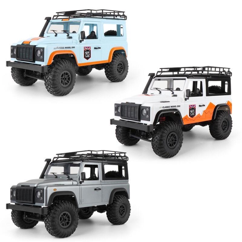 Xe ô tô điều khiển từ xa Land Rover Rock MN99S Jeep D90 nâng cấp của MN99 MN-99s nhông kim loại, điều tốc servo xi nhan