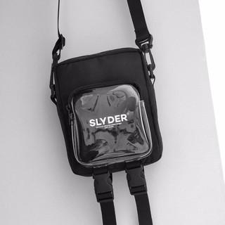 Túi Đeo Chéo  thời trang chữ Slyder kiể mới Mini Bag Slyder có hai ngăn và khoá kéo style kiti shop