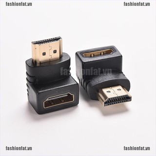 Đầu nối chuyển đổi cáp cổng HDMI sang cổng TV xoay góc 270/90 độ HDTV