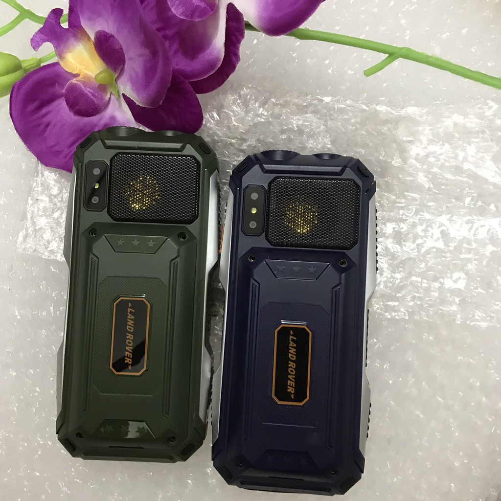 Điện thoại pin khủng Landrover H09 loa cực to 4 sim + đèn pin siêu sáng + phím to giá rẻ
