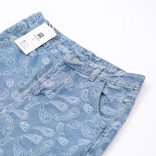 Hình ảnh Quần Jeans Suông Paileys unisex N7 Basic nam nữ ống rộng oversize phong cách Hàn Quốc ulzzang-8