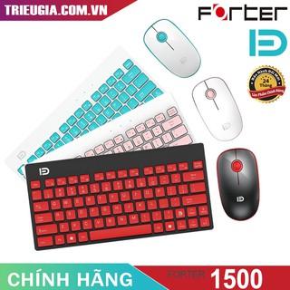 Bộ bàn phím chuột không dây Forter 1500 – Chính Hãng