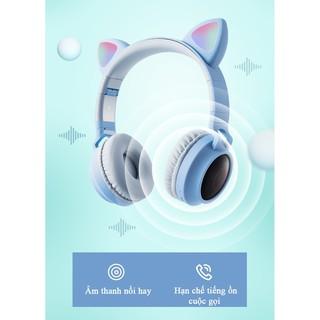 Tai Nghe Bluetooth P47 Chụp Tai / Tai Mèo Bluetooth P39M Chụp tai, Có Mic, Âm Bass Mạnh Mẽ Và Dung Lượng Pin Khủng