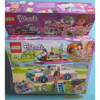 LEGO Friends 41333 Olivia's Mission Vehicle – Đồ Chơi LEGO Chính Hãng Đan Mạch
