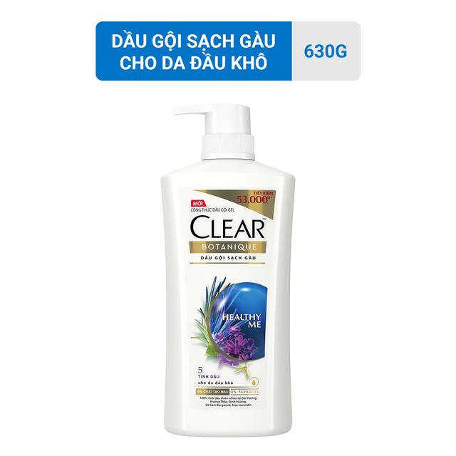 Dầu gội sạch gầu CLEAR Botanique 5 tinh dầu