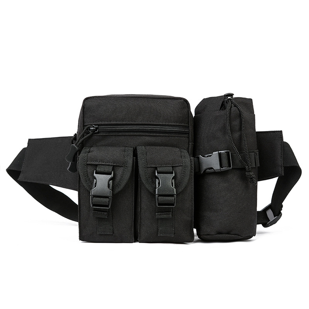 Men Women Adjustable Casual Large Capacity Outdoor Sports Waterproof Portable Waist Pack
