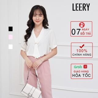 Áo đi làm nữ thiết kế lụa Hàn Quốc SM-07 - LEERY thumbnail