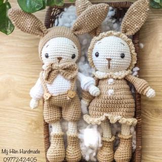 Gấu len handmade