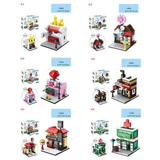 SIY❤ Fashion 118pcs children mini street building blocks toy educational