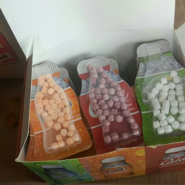 Kẹo C coca hộp 30 vỉ mix 3 vị