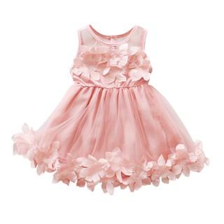 Đầm xòe họa tiết hoa xinh xắn cho bé gái