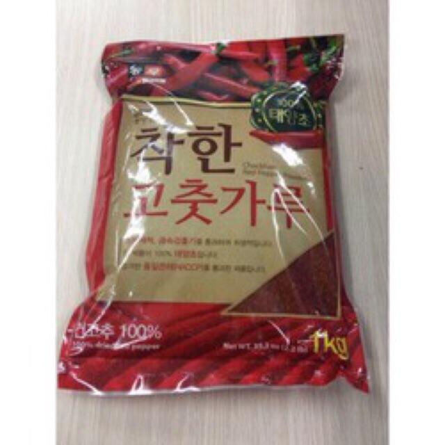 1Kg ớt bột vẩy(mảnh) Hàn Quốc