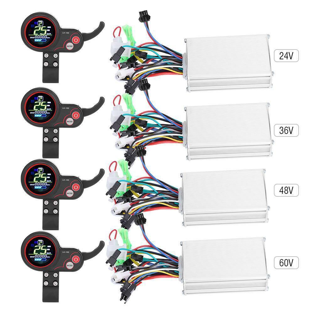 Universal LCD Display 24V 36V 48V 60V 250W 350W Multiple Setting