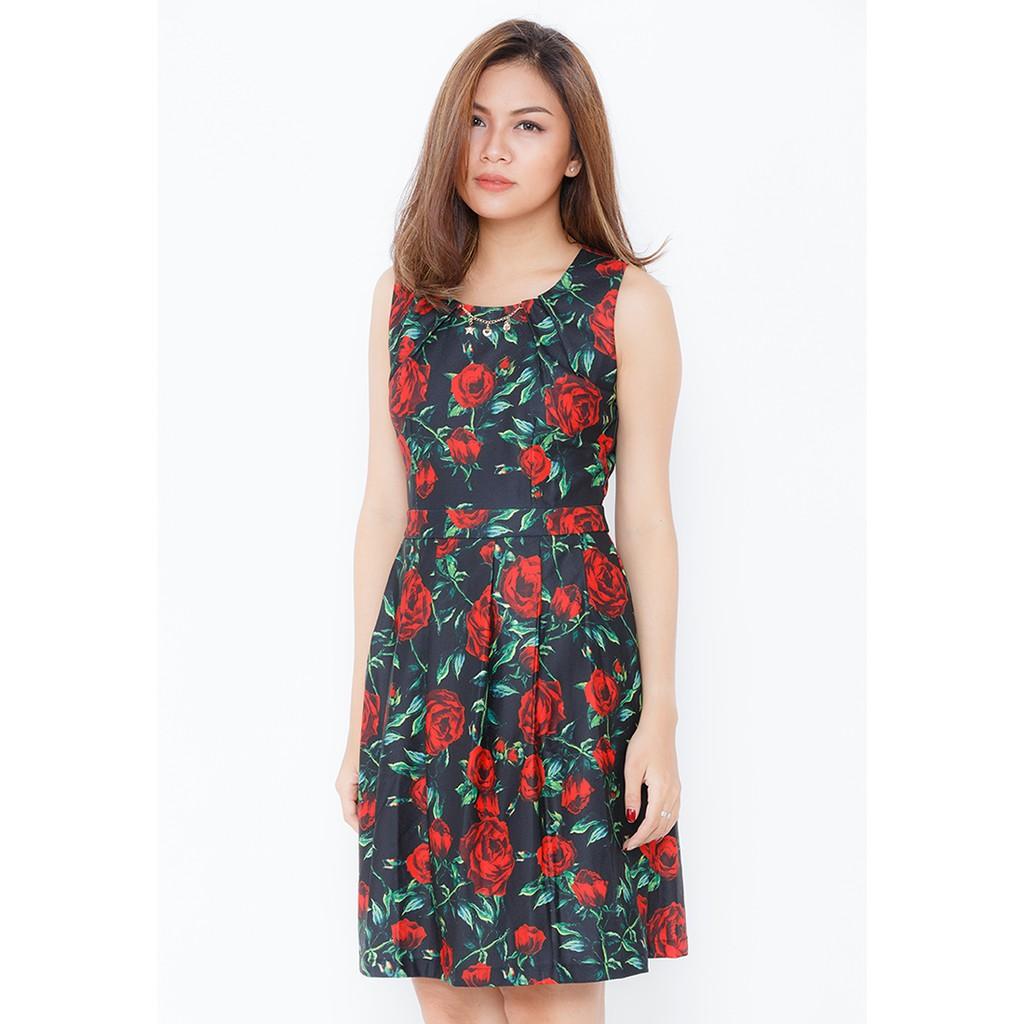 NT Fashion - Đầm Xòe Họa Tiết / D158XA -4