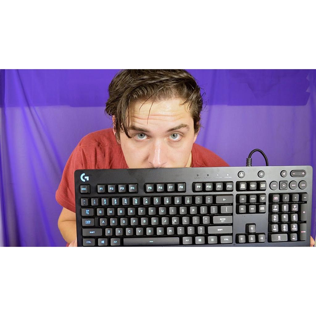 Bàn Phím Giả Cơ Gaming Logitech G213 Prodigy RGB - Hàng Chính Hãng Bảo Hành 1 Năm