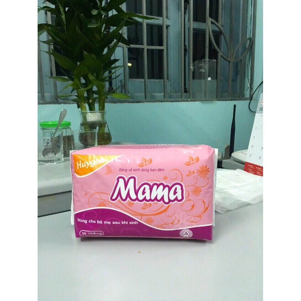 Bỉm Mama 12 miếng cho mẹ sau sinh