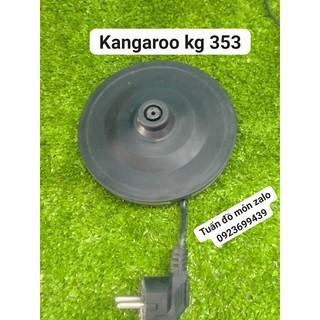 [Mã ELFLASH5 giảm 20K đơn 50K] ĐẾ BÌNH ĐUN SIÊU TỐC Kangaroo 1.7 lít KG-353 kiện phụ tùng linh kiện chính hãng