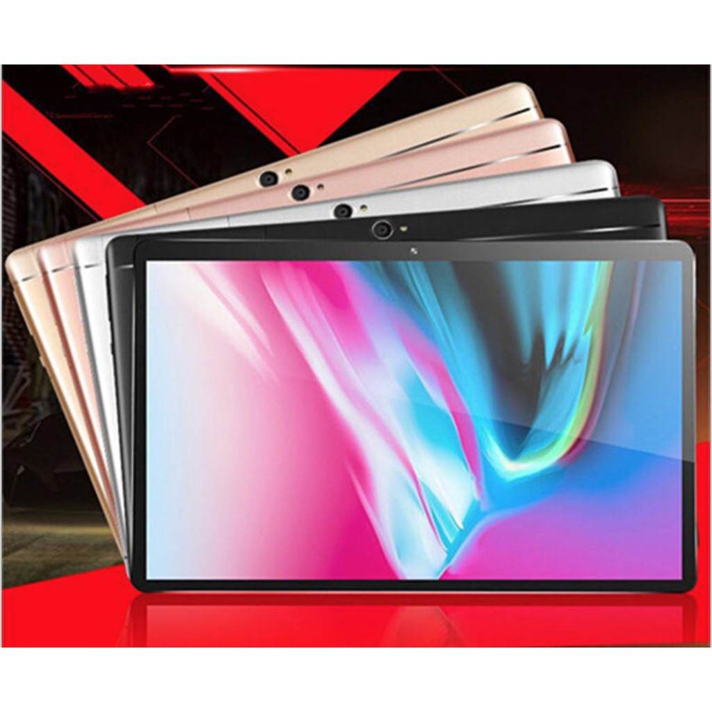 Máy tính bảng Tablet 10.1inch IPS Android 6.0 Ram 8G Rom 128Gb + tặng bút cảm ứng 2 đầu - ShopToro