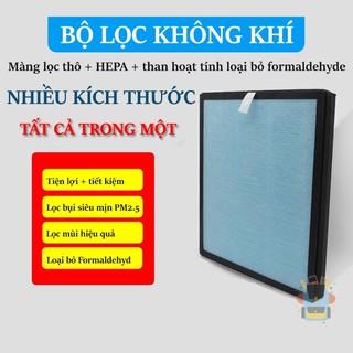 Màng lọc hepa 4 lớp lọc bụi mịn PM 2.5 dùng thay thế cho máy lọc không khí