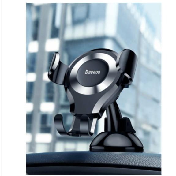 Giá đỡ điện thoại trên ô tô Baseus Osculum Type Gravity Car Mount SUYL-XP01 Chính Hãng