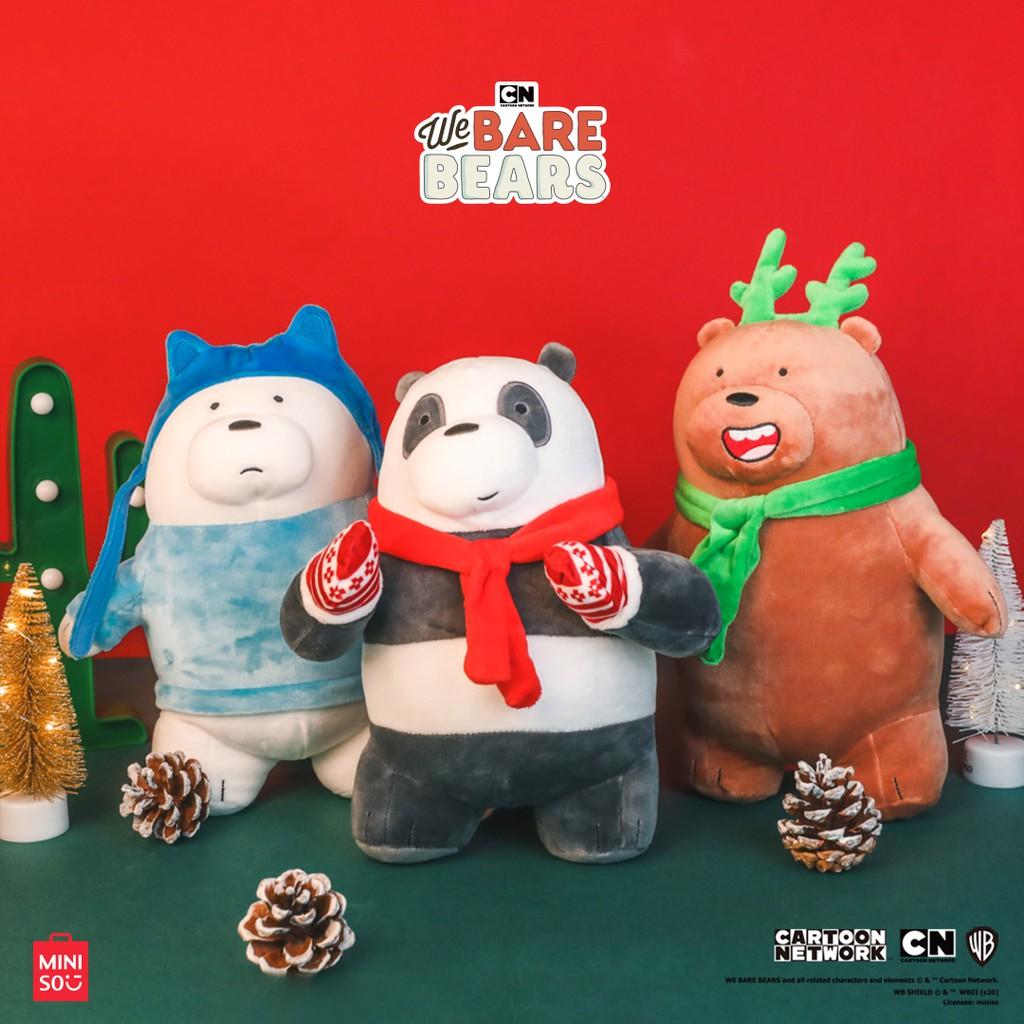 Gấu bông We Bare Bears Christmas 3.0