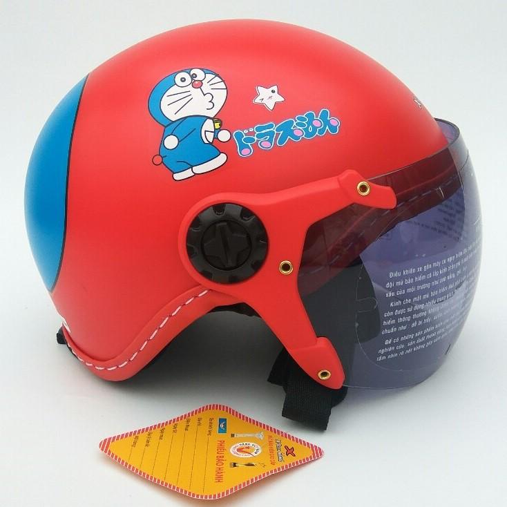 Mũ bảo hiểm trẻ em ĐỨC HUY 008K Kính càng X-teen (nhiều màu)