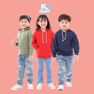 Áo Hoodie Bé Trai (5 - 9 tuổi) K's Closet K139TEF