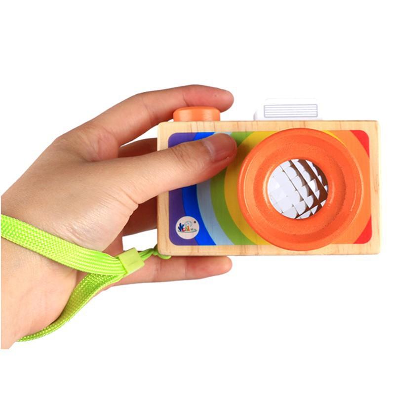[GIÁ HỦY DIỆT] Máy ảnh kính vạn hoa đồ chơi gỗ