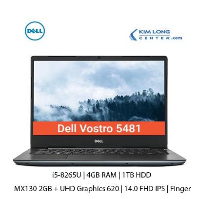 Laptop Dell Vostro 5481 : i5-8265U | 4GB RAM | 1TB HDD | GeForce MX130 2GB | 14.0 FHD IPS | Dos - Hàng Nhập Khẩu