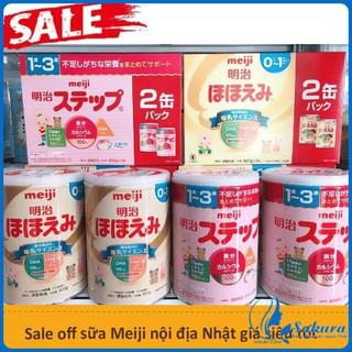 [ HÀNG AUTH] Combo 2 Hộp Sữa Meiji 800g Hàng Nhật Nội Địa Date Mới Nhất thumbnail