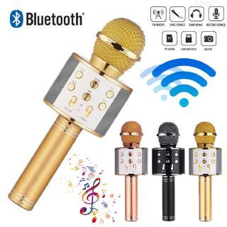 Micro Bluetooth Không Dây Hát Karaoke Chuyên Nghiệp Kèm Phụ Kiện thumbnail