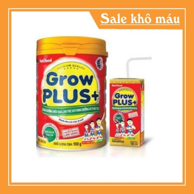 Sữa bột  Grow plus lon 900g