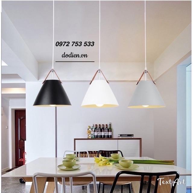 Đèn thả bàn ăn phòng khách hiện đại hình nón D280