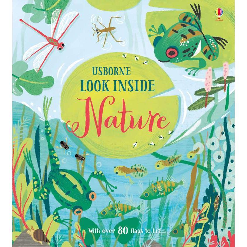 Sách lật mở Look inside Nature Usborne