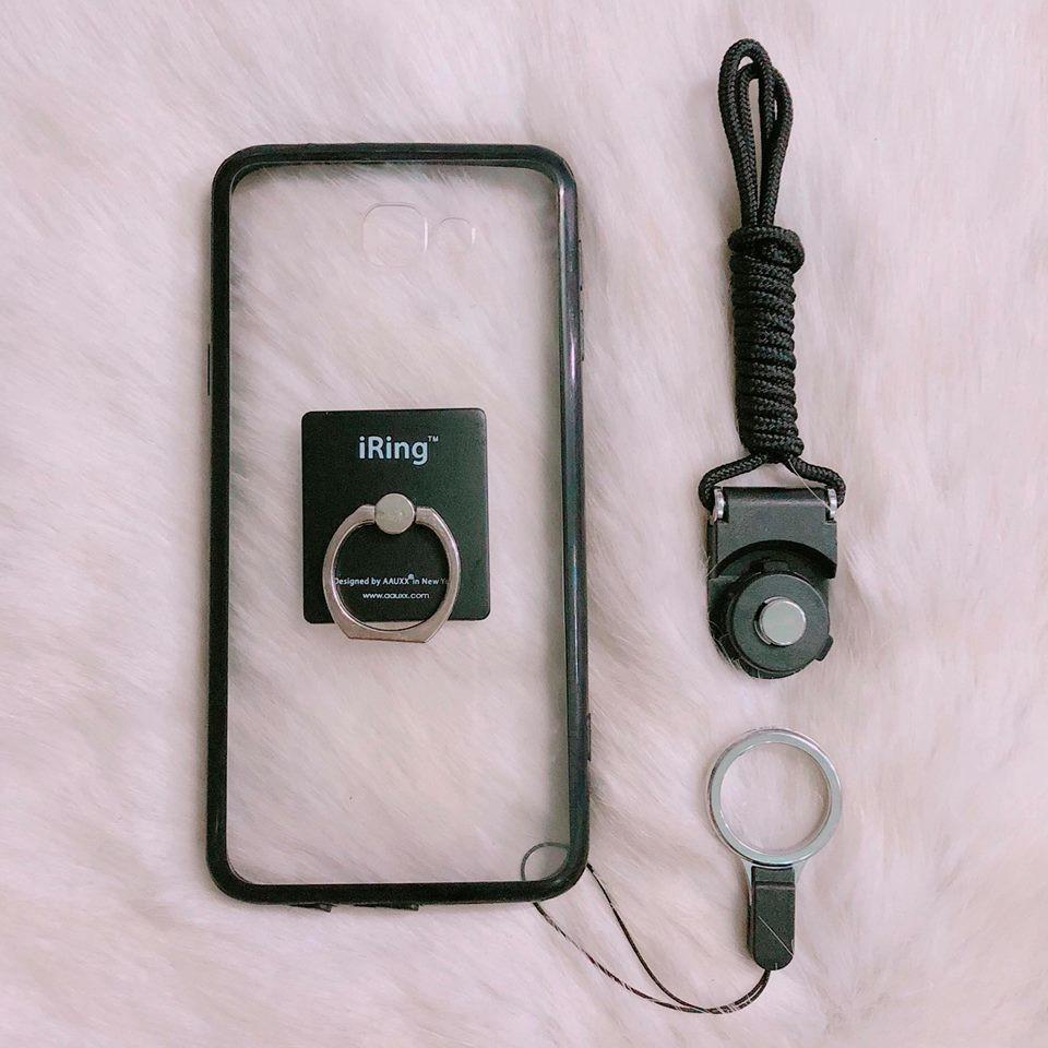 < COMBO HOT > ốp SAMSUNG J5 Prime + iring + dây đeo
