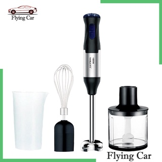 [giá giới hạn] 4 in 1 immersion hand stick blender mixer with chopper whisk attachment kit - hình 4